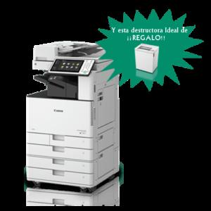 Impresora Color Canon imageRUNNER ADVANCE c3520I regalo destructora ideal 2465cc