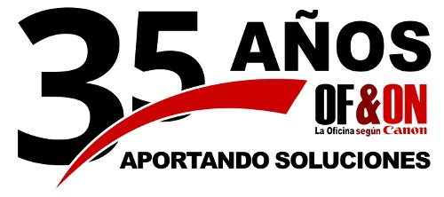 Logotipo 35 aniversario OFYON