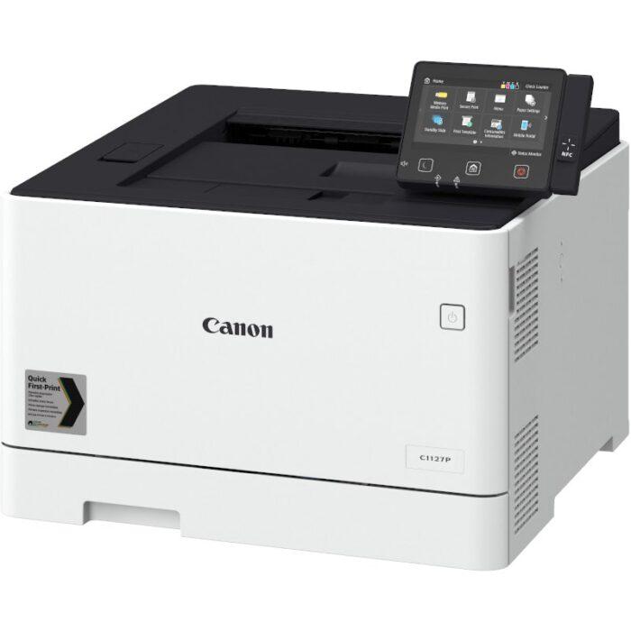 Impresora láser color Canon i-SENSYS X C1127P vista lateral