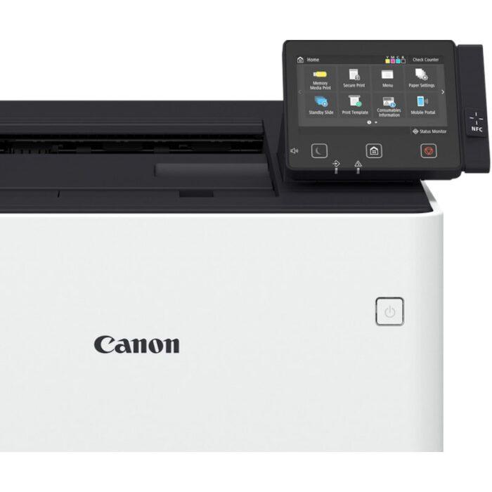 Impresora láser color Canon i-SENSYS X C1127P vista pantalla