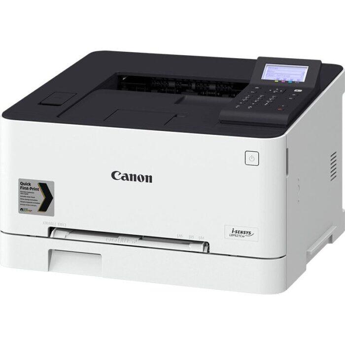 Impresora láser color Canon i-SENSYS LBP621Cw vista lateral