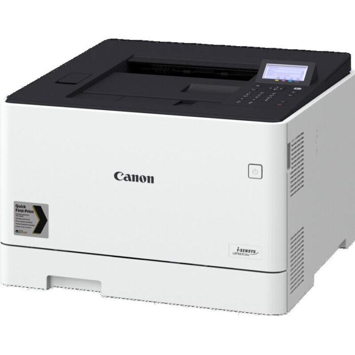 Impresora laser color Canon i-SENSYS LBP663Cdw vista lateral