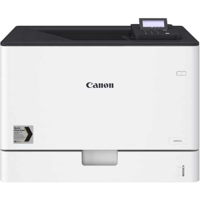 Impresora láser color A3 Canon i-SENSYS LBP852Cx vista frontal