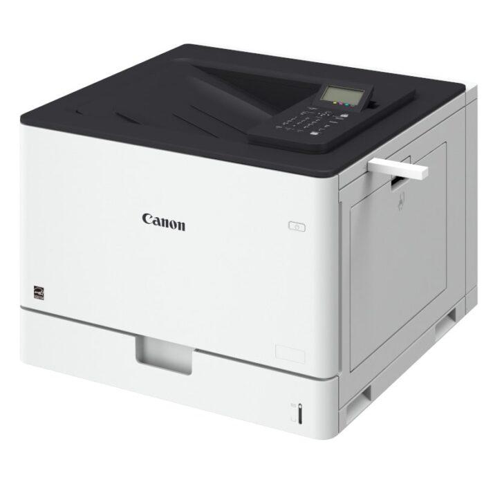 Impresora láser color A3 Canon i-SENSYS LBP852Cx vista lateral