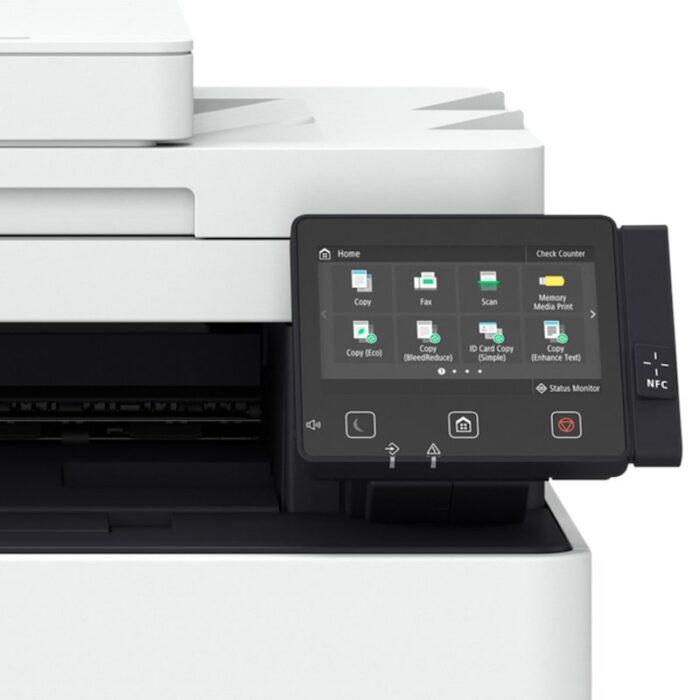 Impresora multifunción láser en color Canon i-SENSYS X C1127i vista pantalla