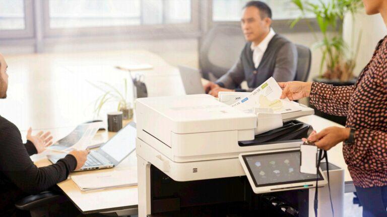 Seguridad en las impresoras Canon de última generación