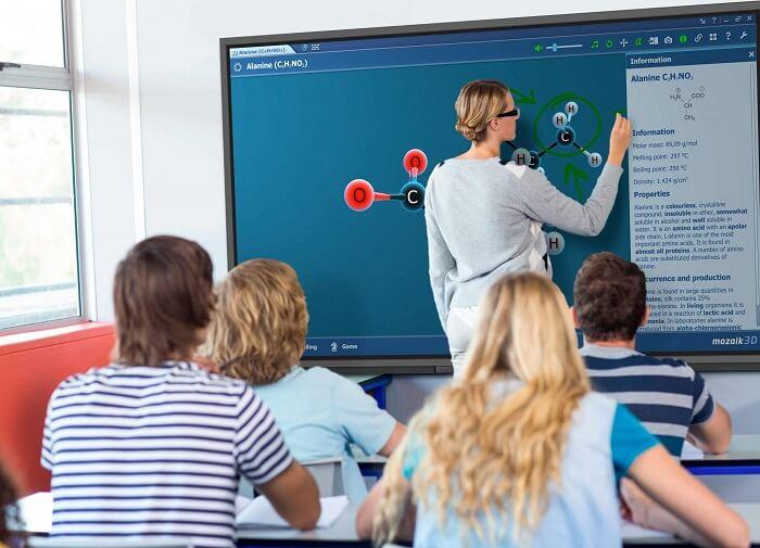 Pantalla interactiva Newline ATLAS en el aula